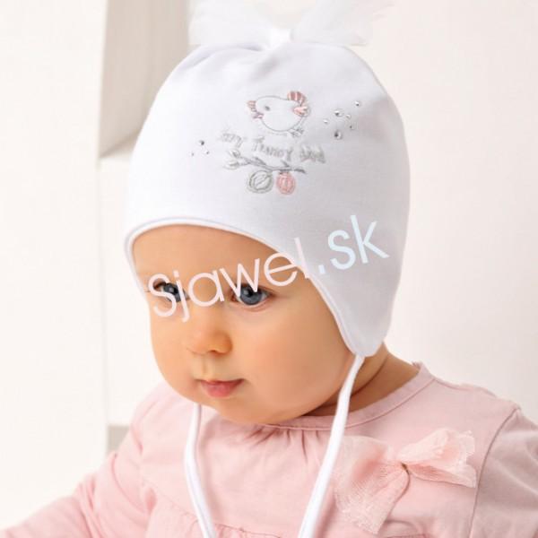 7d817e016 Detské čiapky dievčenské prechodné - jarné/ jesenné model - 1/ 114 - 40/42