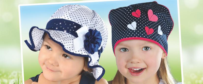 Detské čiapky predaj