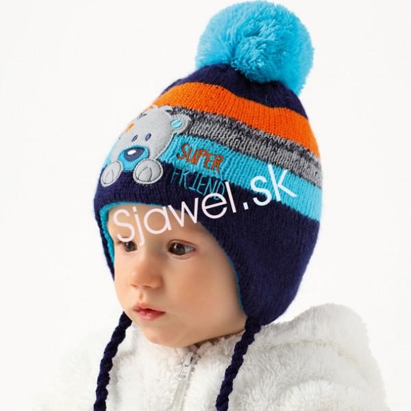 a707810e9 Detské čiapky - zimné - chlapčenské - model - 862
