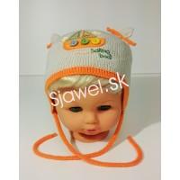 a61b236b0 Detské čiapky chlapčenské prechodné jarné / jesenné model 265 - B - 42/46