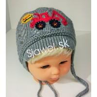 f05d09773 Detské čiapky chlapčenské prechodné jarné / jesenné model 253 - A - 42/46