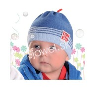 2bd3f2b8f Detské čiapky chlapčenské prechodné jarné / jesenné model 211 - 36/38