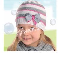 Dievčenská  čiapka  jarná -  model  128