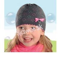 Dievčenské čiapky jarné - model 131