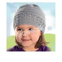 Dievčenská  čiapka  jarná -  model  132