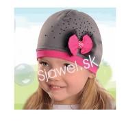 Dievčenské čiapky jarné - model 133