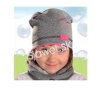 Dievčenská  čiapka  jarná  model - 134