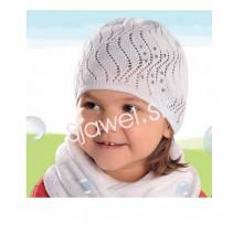Dievčenská  čiapka  jarná  model - 135