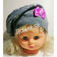 Dievčenská  čiapka  jarná  model - 144 - F