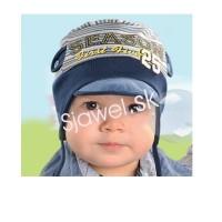 Chlapčenské čiapky - jarné - model 221
