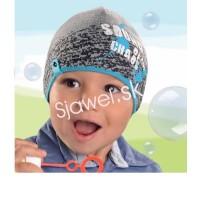 Chlapčenské čiapky - jarné - model 233