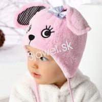 8b270e32f Detské čiapky kojenecké zimné dievčenské - model - 743