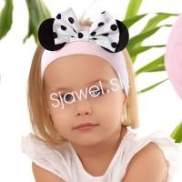 Bavlnené čelenky - model - 1042 - 44 - 46 cm