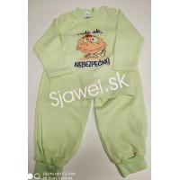 """Detské pyžamá -  """"malý, ale... NEBEZPEČNÝ"""" - model - 5016"""
